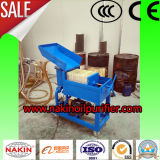 Purificador de petróleo portable de las ventas calientes, máquina de la filtración del petróleo del papel de filtro