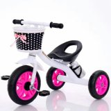 Preiswerteres Baby-Dreirad, Baby-Fahrrad scherzt Dreirad mit Korb
