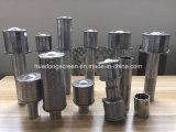 30micron Ölquelle-Gehäuse-Grobfilter/das Keil-Draht eingewickelte Grobfilter, das für Öl verwendet wird, verfeinern