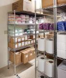 Rack de Exibição de metal cromado BRICOLAGE para armazenar e Supermercado