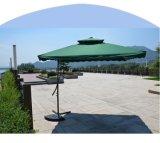 2.5X2.5meter 강철 렌치 우산 정원 옥외 우산 거는 양산