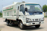 Isuzu 4*2 Depresión Sweeper Road 5m3 de camiones de limpieza