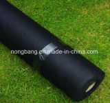 Poli agrícolas Manta de plantas daninhas tapete plástico preto