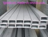 304/316 de tubulação sem emenda retangular de aço inoxidável
