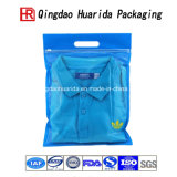 高い明快さのジップロック式の下着はワイシャツの衣類のプラスチックパッキング袋に着せる