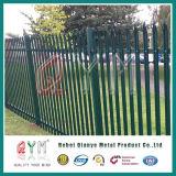 Jardim empurrador de ferro/ /Esgrima paliçada de aço Design de ferro forjado Régua vertical