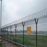 Valla de malla de alambre recubierto de PVC para carreteras y ferrocarriles