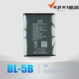батарея Bl-5b Li-иона для Nokia