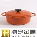 エナメルスープ鍋は3つの鍋によってセットした