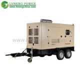 250kVA無声スキッドによって取付けられるタイプディーゼルガスの発電機