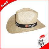 カーボーイ・ハットの麦わら帽子のSeagrassの帽子のカウボーイの麦わら帽子