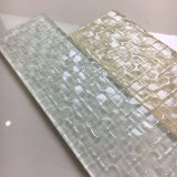 De nieuwste Kunst ontwierp de Witte Tegel van het Glas voor de Decoratie van de Muur
