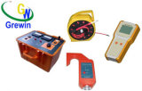 Instrumento de la prueba de la potencia de los acumuladores alcalinos/poner a tierra el localizador del incidente