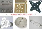 Machine de découpage spéciale de laser de plaques, métal de découpage, machine de découpage de laser de fibre d'acier inoxydable