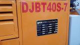 tambour diesel du mélangeur 500L avec la pompe 56kw concrète diesel en vente