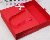 Boîte-cadeau de Type de tiroir avec Ribbon Handle
