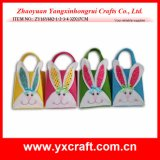 Lapin de Pâques de la décoration de Pâques (ZY15Y335-1-2-3)