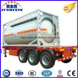 ISO 기준 탄소 강철 20FT 40FT 연료 탱크 콘테이너