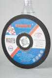 Déprimé Roue de coupe de métal (180X3.2X22.2mm) avec les certificats de ZPM abrasifs