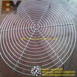 Protector del ventilador con recubrimiento en polvo rejilla del ventilador
