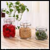 Impostare la bottiglia di vetro della balla della parte superiore dell'oscillazione dell'articolo da cucina