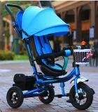 자전 시트 접히는 아이들 유모차 아이의 세발자전거