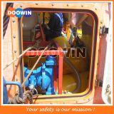 Saco enchido água da carga da prova do teste do barco salva-vidas