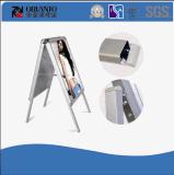 Aluminiumplakat-Standplatz-Verschluss-Rahmen