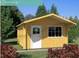 Pequeno Jardim Wooden House (HT-F-002)