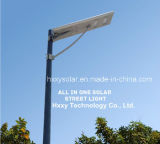 Motion Sensor를 가진 중국 Manufacturer Integrated Solar Li 이온 Battery Street Light 15 Watt