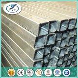 Taille galvanisée de pipe, pipe en acier de la qualité ERW