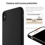 Caixa líquida original da borracha de silicone do telefone móvel para o iPhone X