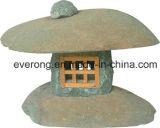 Lantaarn van de Steen van het Graniet van Handcarved de Natuurlijke Chinese voor het Landschap van de Tuin