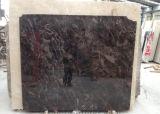 Dark Emperador lajes de mármore telhas