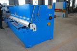 cortador hidráulico del rectángulo del acero inoxidable de la viga del brazo del oscilación de 4*2500m m