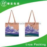 Bolso promocional del algodón del bolso de la lona del totalizador de las compras respetuosas del medio ambiente orgánicas de calidad superior del fabricante de Wenzhou