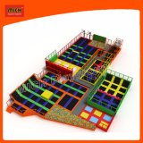 Norme européenne Soft Play Indoor Bungee Jumping Trampoline