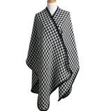 Lady couleur unie Fashion acrylique châle d'hiver en bonneterie (YKY4587)