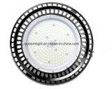 높은 Lumen 130lm/W Commercial Warehouse Lighting Circular High Bay LED
