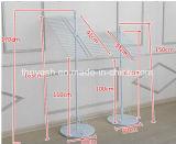 Banco di mostra d'attaccatura del tovagliolo da tavolino decorativo del metallo