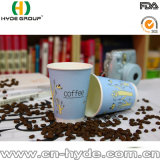 Сертификат FDA/SGS бумажный стаканчик пены 12 Oz для горячего кофеего с крышкой