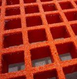 Grata modellata di rinforzo plastica della vetroresina digrignata parte superiore di Soild FRP/GRP