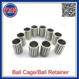 Fermo standard della gabbia/sfera d'acciaio del cuscinetto a sfere di POM/Brass/Bronze/Steel/boccola di Oilless