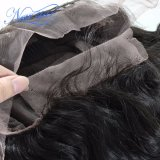 도매 인도 자연적인 파 130% 조밀도 가득 차있는 레이스 가발 사람의 모발