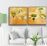 3 illustrations modernes de peinture de reproductions d'art contemporain de panneau ont estampé sur la toile pour la maison et le bureau
