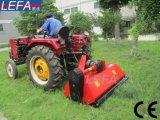 잎을%s 가진 트랙터 부착 농장 잔디밭 절단기 트랙터 도리깨 잔디 깎는 사람