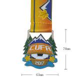 Il creatore su ordinazione delle medaglie di rivestimento del nichel del commercio all'ingrosso molle dello smalto di prezzi competitivi mette in mostra la medaglia