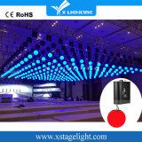 DMX LED kinetische Aufzug-Farbe magisches RGB-Kugelguangzhou-Stadiums-Licht