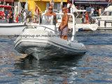Liya 19pies fuera de borda de los motores de Barco Barco de cubierta de PVC