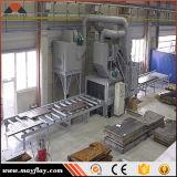 A través de rodillo tipo máquina de granallado, Modelo: Emp-1535P11-8